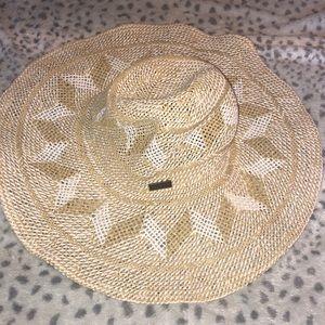 NWT Roxy straw beach hat